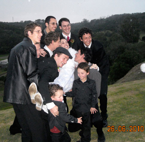 My sons, some of their nephews and only niece